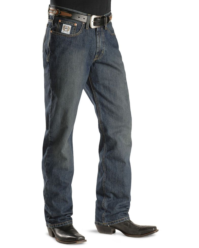 """Cinch Jeans - White Label Relaxed Fit - 38"""" & 40"""" Tall Inseams, Dark Stone, hi-res"""