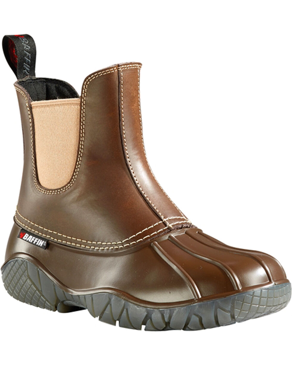 Baffin Women's Great Lake Series Huron Boots - Round Toe, Brown, hi-res