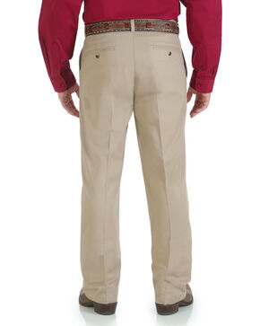 Wrangler Men's Riata Advanced Comfort Pants, Khaki, hi-res