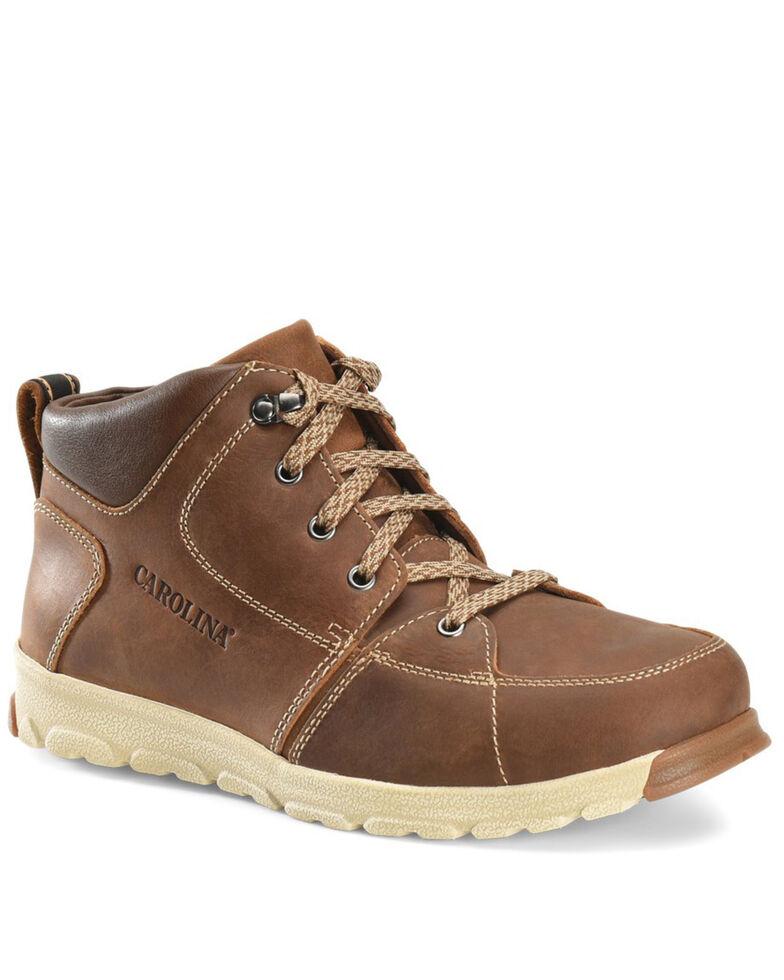 Carolina Men's S-117 ESD Work Shoes - Aluminum Toe, Dark Brown, hi-res