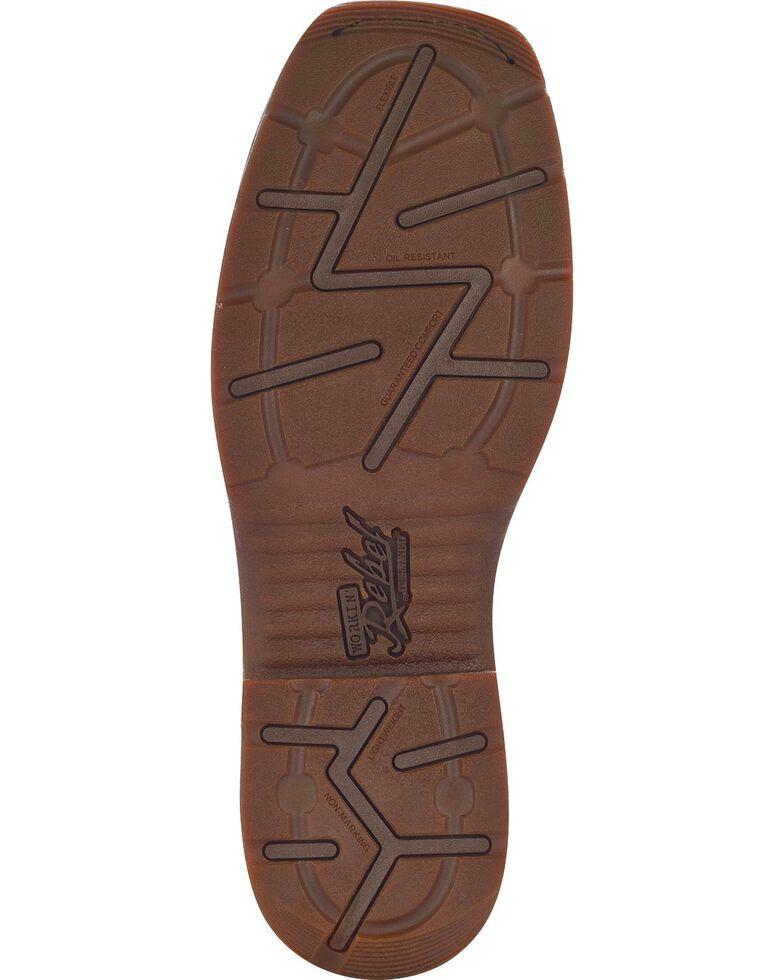 Durango Men's Steel Toe Rebel Western Boots, Brown, hi-res