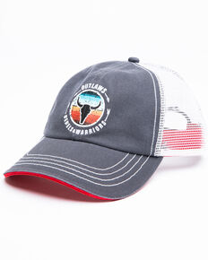 Idyllwind Women's Outlaws And Rebels Ball Cap , Grey, hi-res