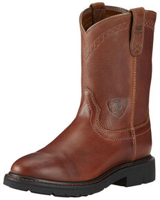 Ariat Men's Sierra Work Boots, Bronze, hi-res