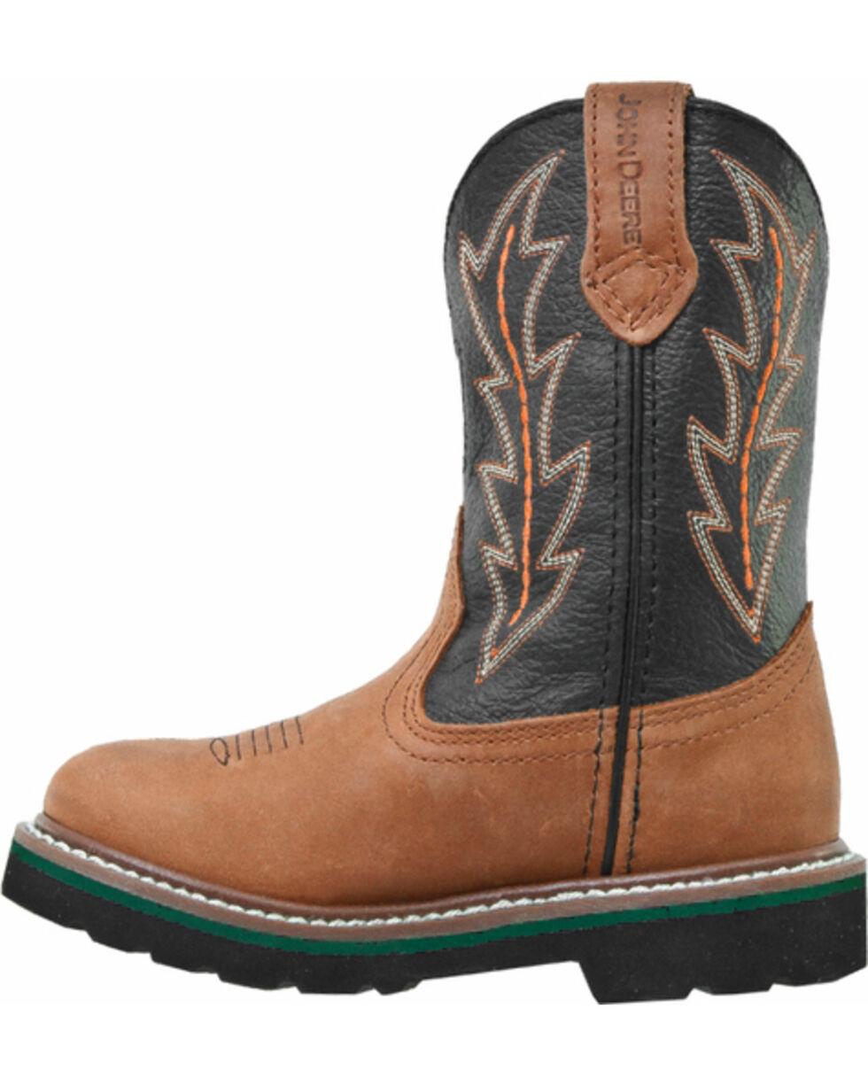 John Deere® Children's Wellington Boots, Tan, hi-res