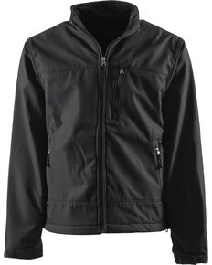 Berne Eiger Softshell Jacket, Black, hi-res