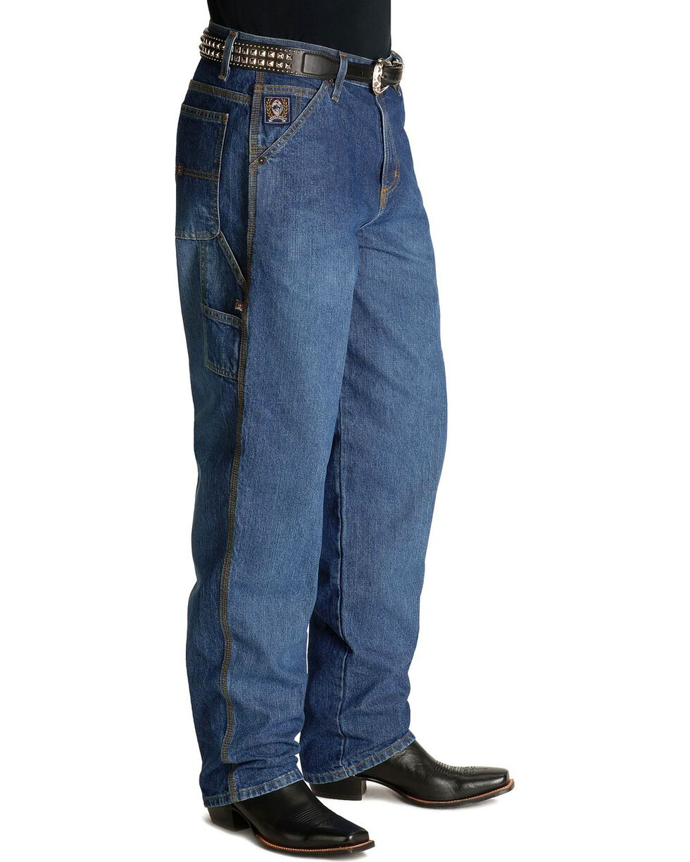 Cinch Men's Blue Label Carpenter Jeans, Vintage, hi-res
