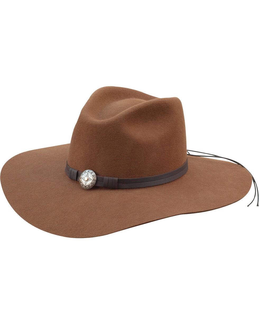 Silverado Women's Scarlett Pecan Pinch Front Western Hat , Pecan, hi-res