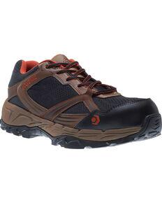 Wolverine Men's Rush ESD Work Shoes - Composite Toe, Brown, hi-res