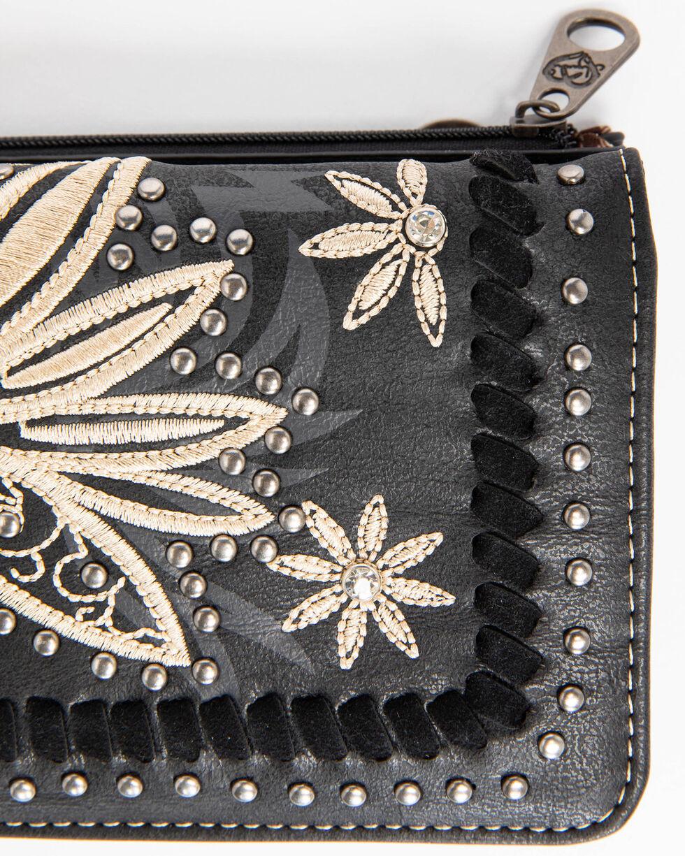 Shyanne Women's Floral Embroidered wallet, , hi-res