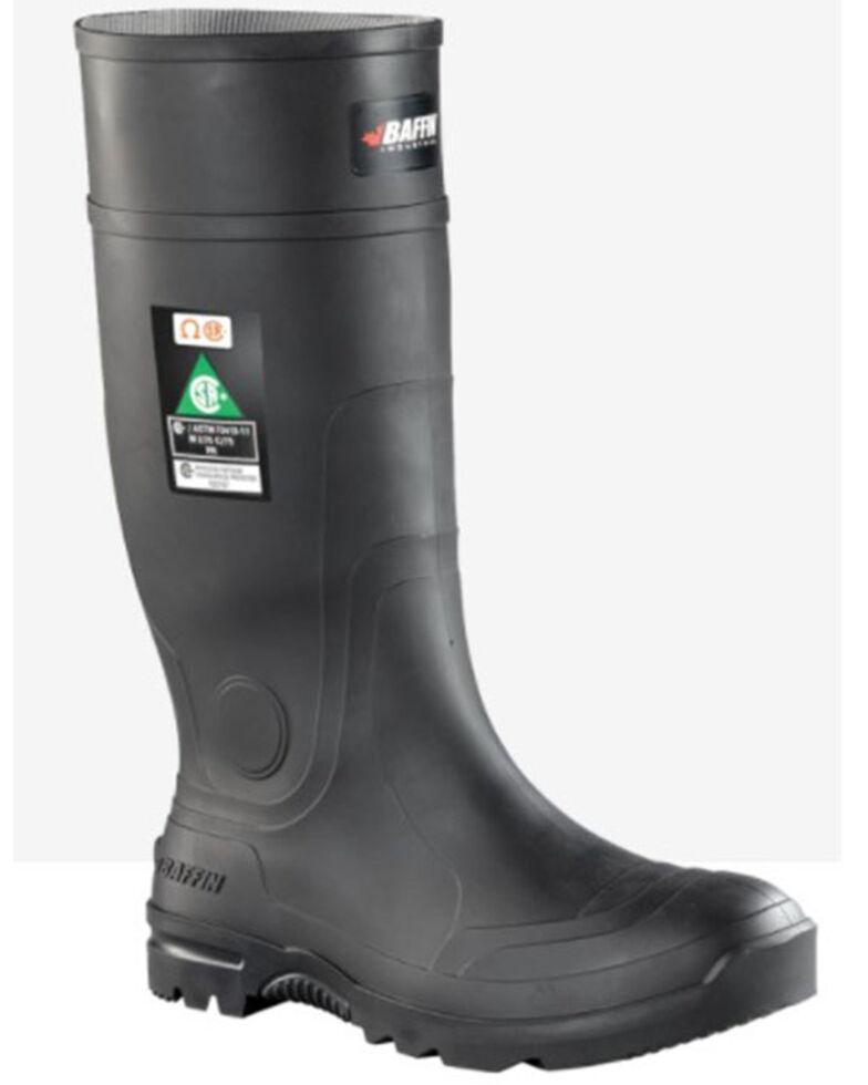 Baffin Men's Blackhawk Waterproof Rubber Boots - Composite Toe, Black, hi-res
