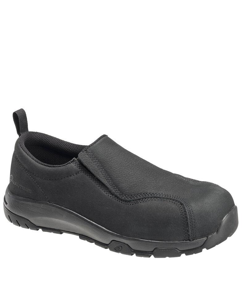 Nautilus Men's Slip-On Work Shoes - Composite Toe, Black, hi-res