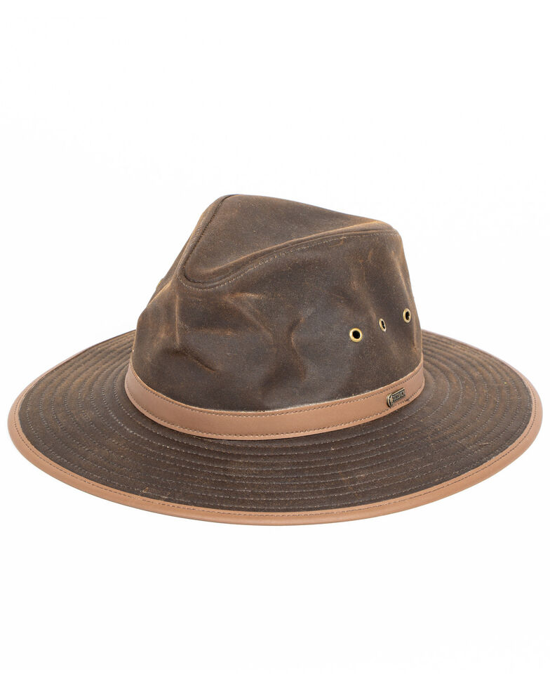 Outback Men's Deer Hunter Hat, Bronze, hi-res