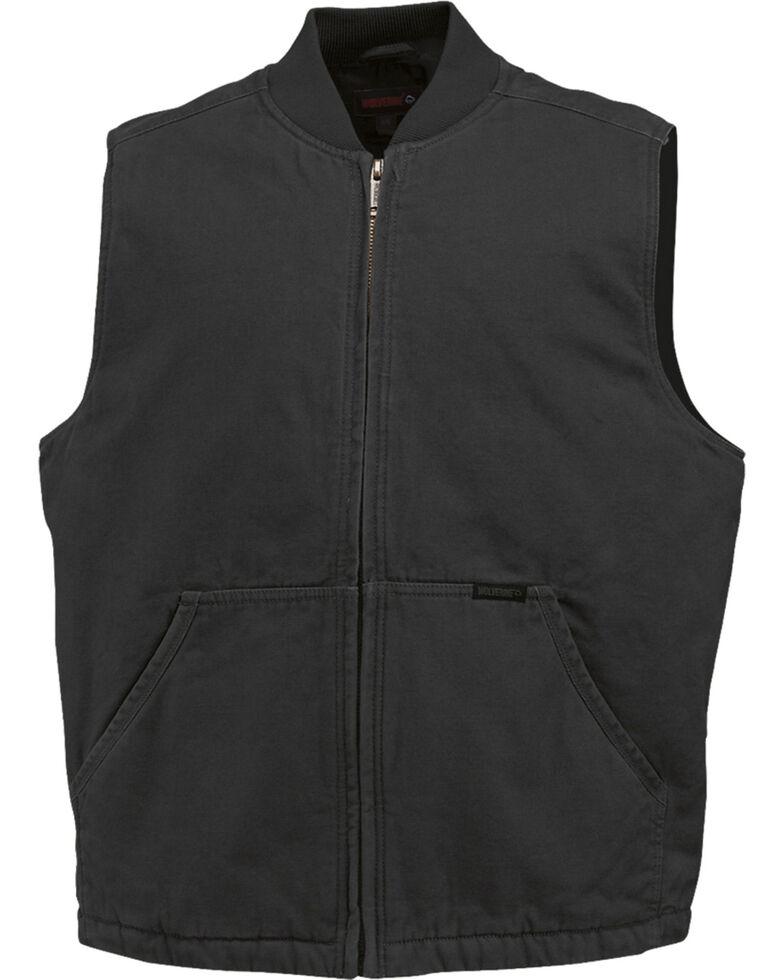 Wolverine Finley Vest, Black, hi-res