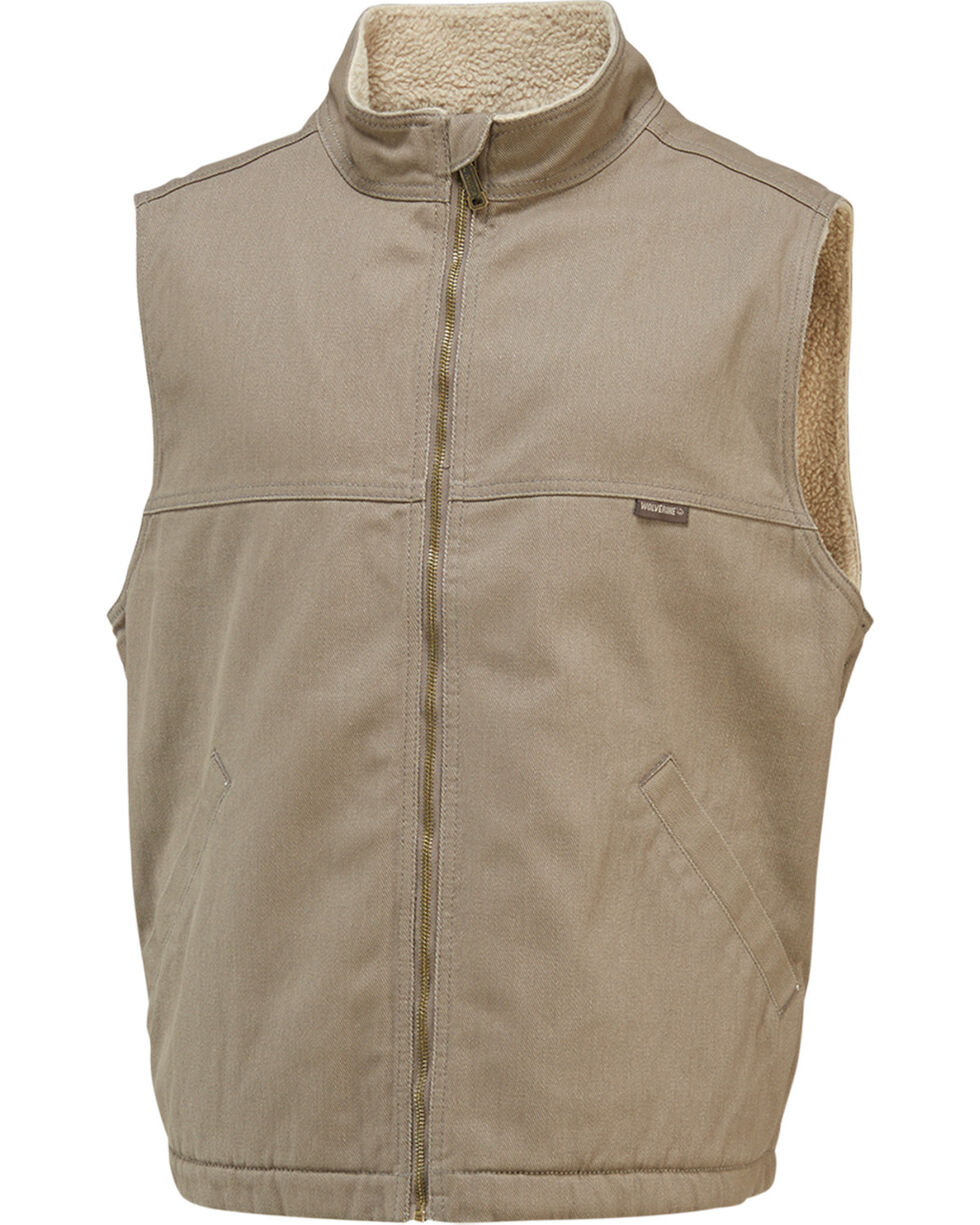 Wolverine Men's Upland Vest, Grey, hi-res