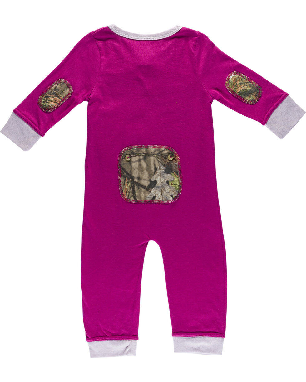 Browning Infant Girls' Fuchsia Baby Trout Union Suit , Fuchsia, hi-res