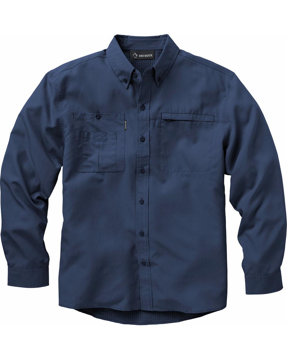 Dri Duck Men's Regulator Shirt - Big Sizes (3XL - 4XL), Dark Blue, hi-res