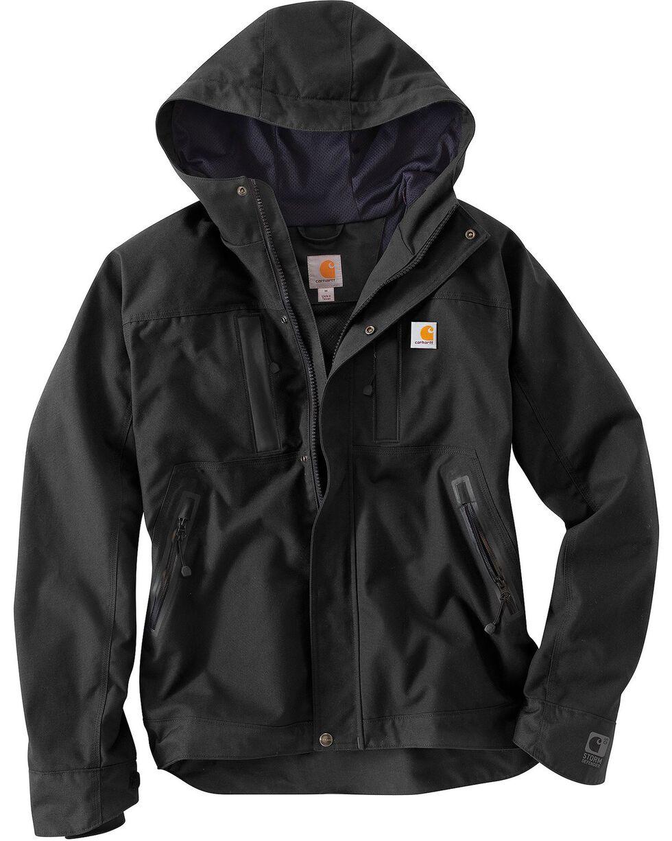 Carhartt Quick Duck Harbor Jacket, Black, hi-res