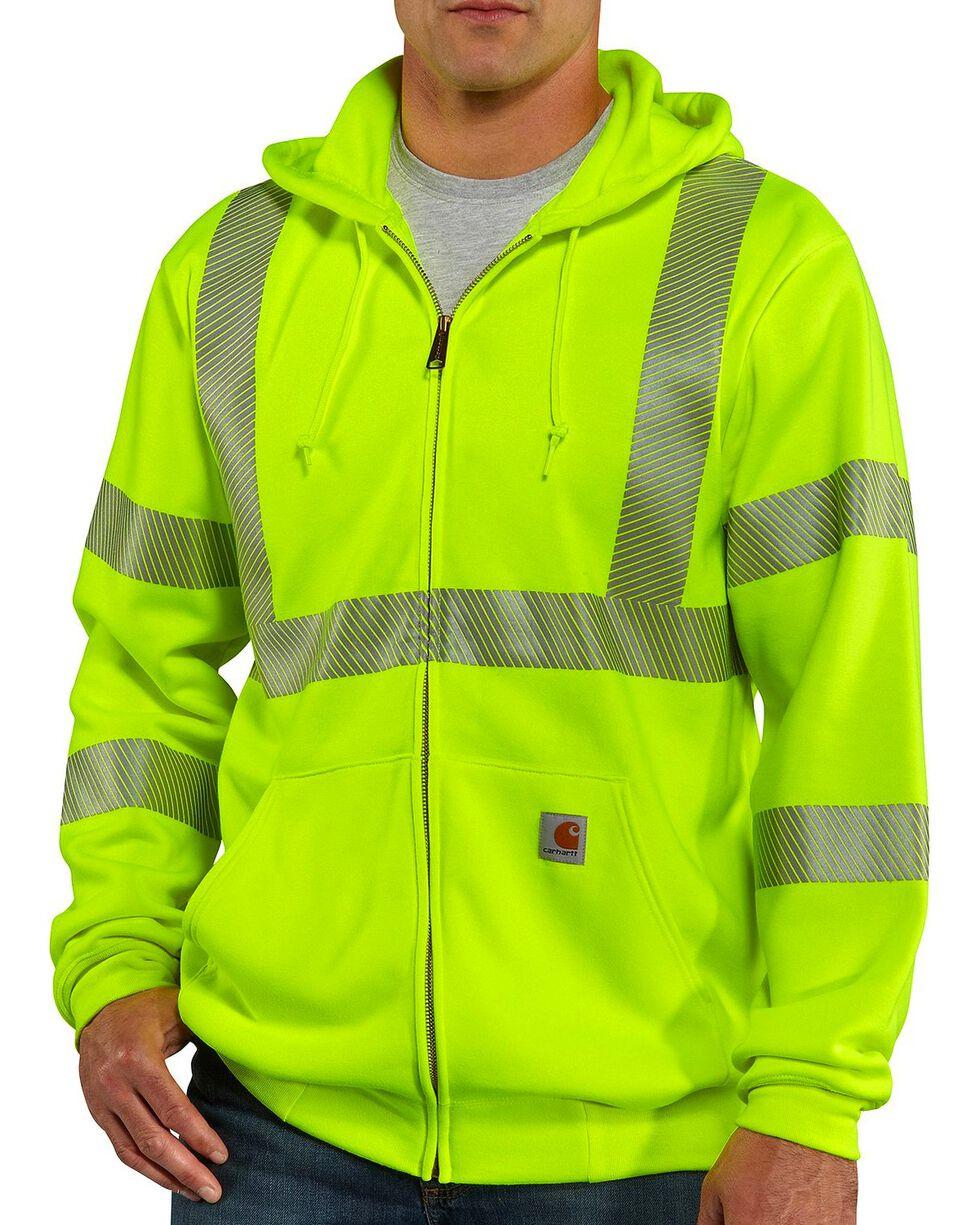Carhartt High-Visibilty Zip-Front Class 3 Jacket, Lime, hi-res