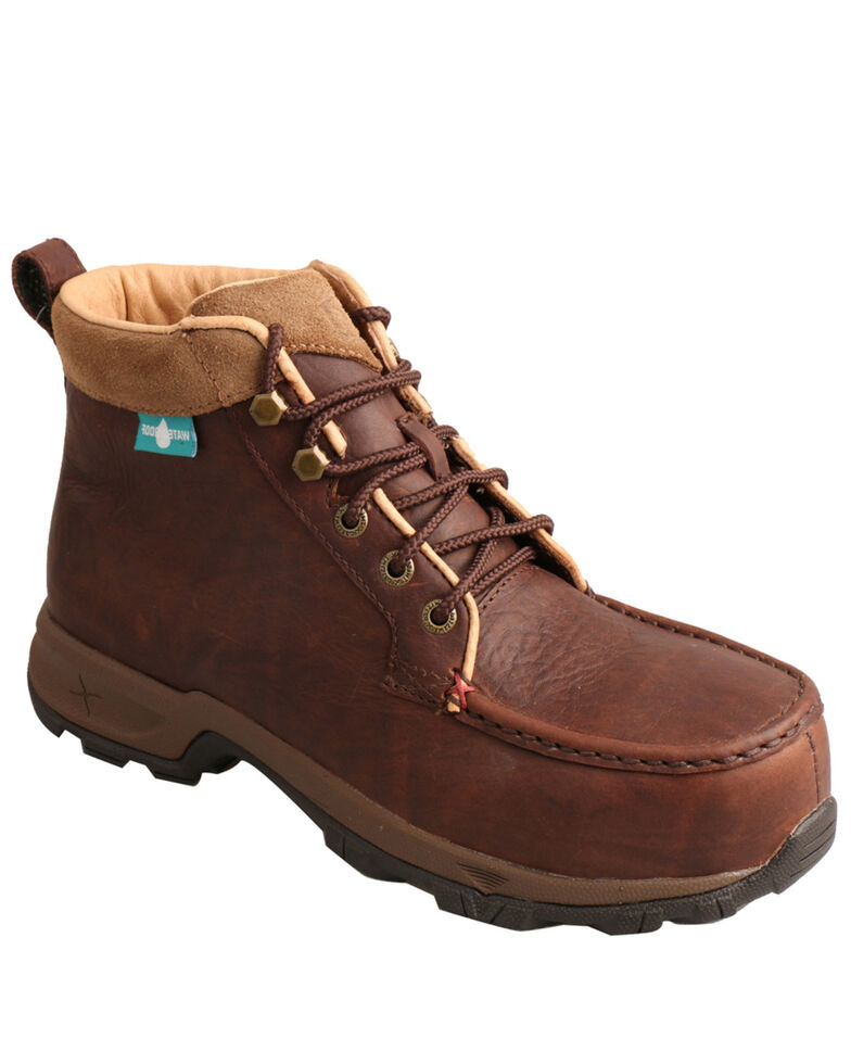 "Twisted X Women's 6"" Comp Toe Hiking Boots, Dark Brown, hi-res"