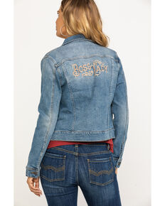 Idyllwind Women's Boss Lady Denim Jacket, Blue, hi-res
