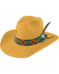 c39311bf98e Charlie 1 Horse Women s Yellow Gold Digger Hat