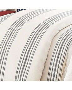 HiEnd Accent Navy Prescott Stripe Duvet - Super Queen, Navy, hi-res