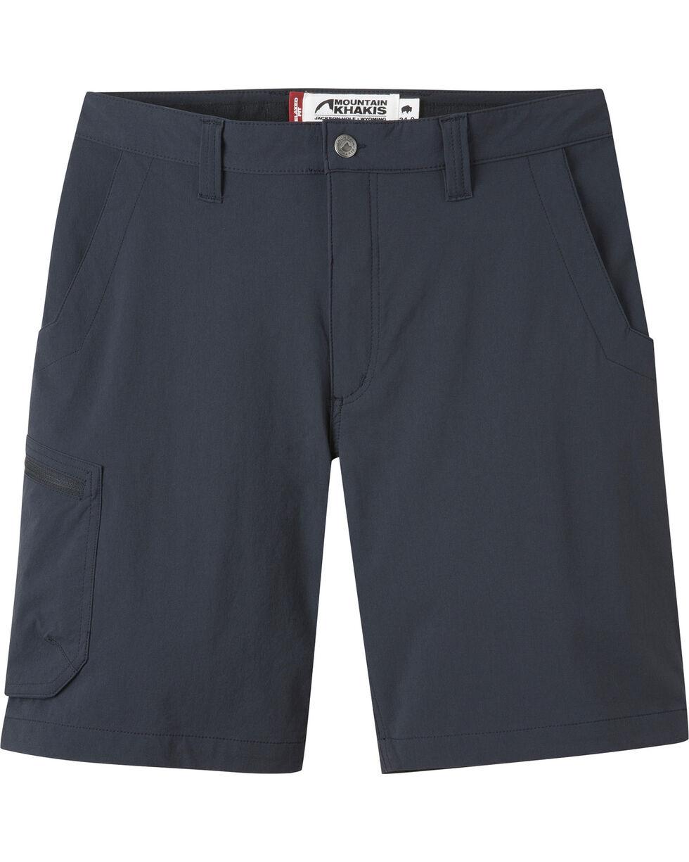 "Mountain Khakis Men's Cruiser Relaxed Fit Shorts - 9"" Inseam, Black, hi-res"