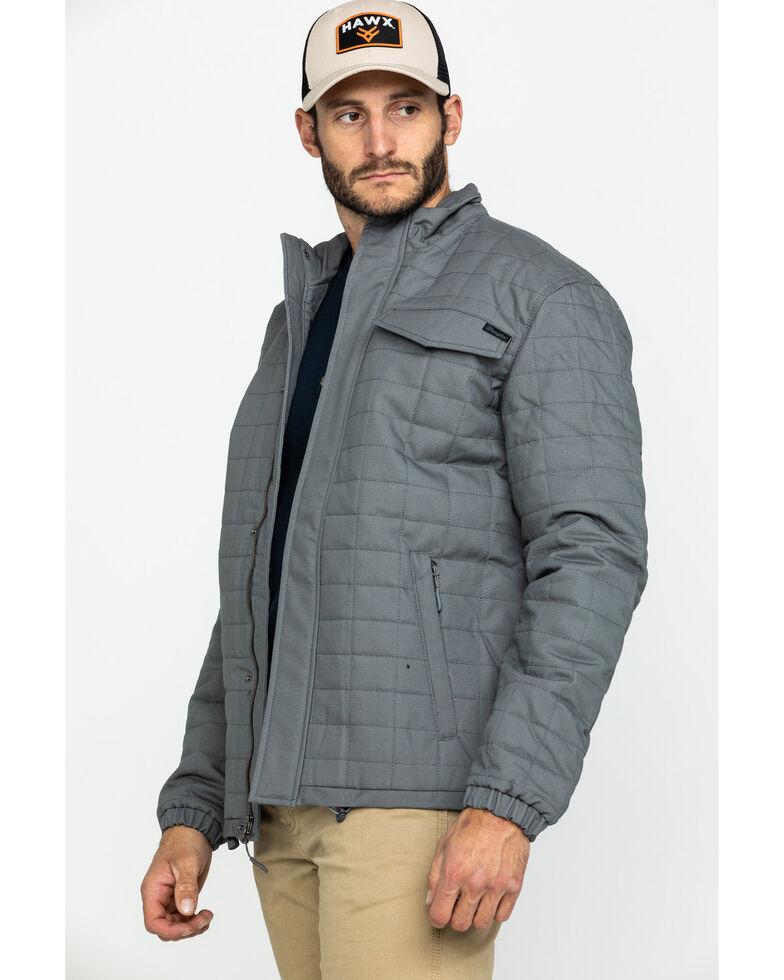 Wrangler Men's Slate Chore Quilted Jacket , Slate, hi-res