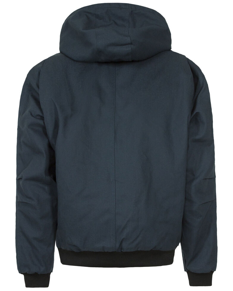 Berne Men's Original Hooded Jacket, Navy, hi-res