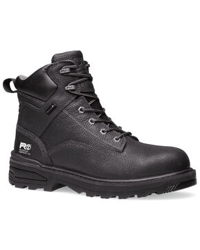 Timberland PRO Lace-Up All Purpose Work Boots, Black, hi-res
