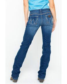 Wrangler Retro Women's Sadie Mid-Rise Jeans, Blue, hi-res