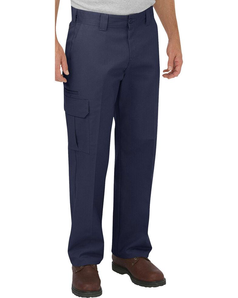 Dickies Men's FLEX Relaxed Fit Straight Leg Cargo Pants, Navy, hi-res