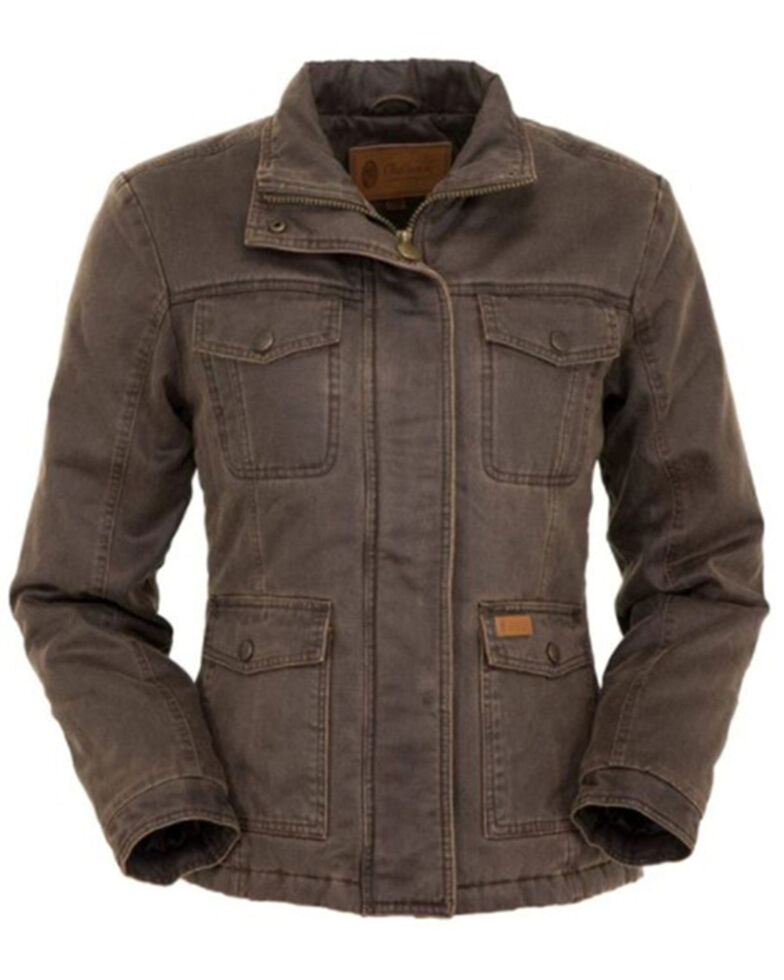 Outback Trading Co. Women's Kempsey Jacket - Plus, Brown, hi-res