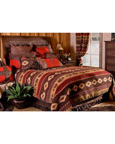 Carstens Cimarron Full/Queen Bedding - 5 Piece Set, Multi, hi-res