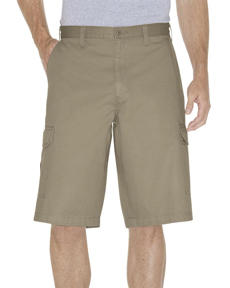 "Dickies Loose Fit 13"" Cargo Shorts - Big & Tall, Khaki, hi-res"