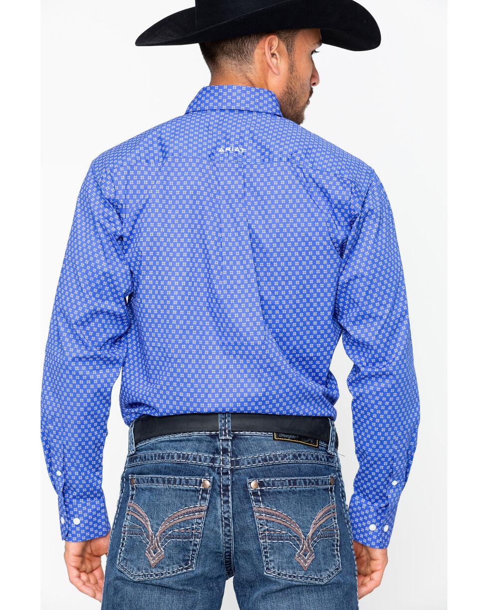 Ariat Men's Tallahassee Long Sleeve Shirt, Blue, hi-res
