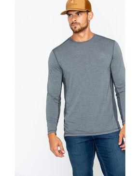 Carhartt Men's Shadow Force Extremes Long Sleeve T-Shirt, Grey, hi-res