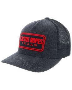 HOOey Men s Red   Black Cactus Ropes Logo Trucker Cap 67f0c21cc064