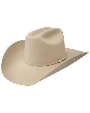 Resistol Pure 100x Beaver Fur Felt Cowboy Hat, Cream, hi-res