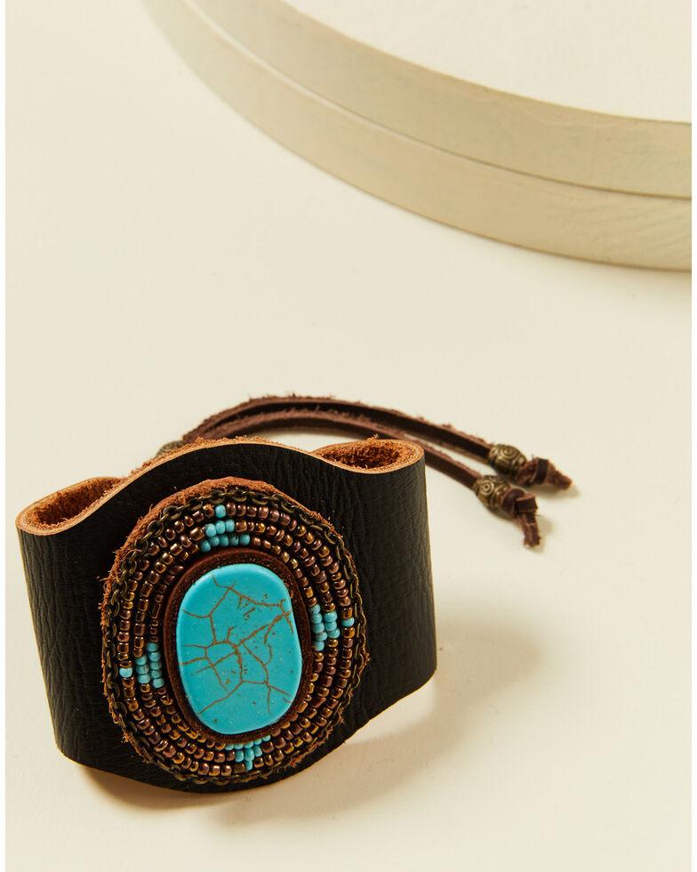 Idyllwind Women's Crossing Roads Turquoise Bracelet, Brown, hi-res