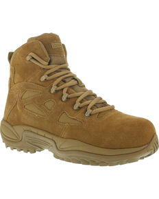 "Reebok Men's Stealth 6"" Tactical Boots - Composite Toe, Honey, hi-res"