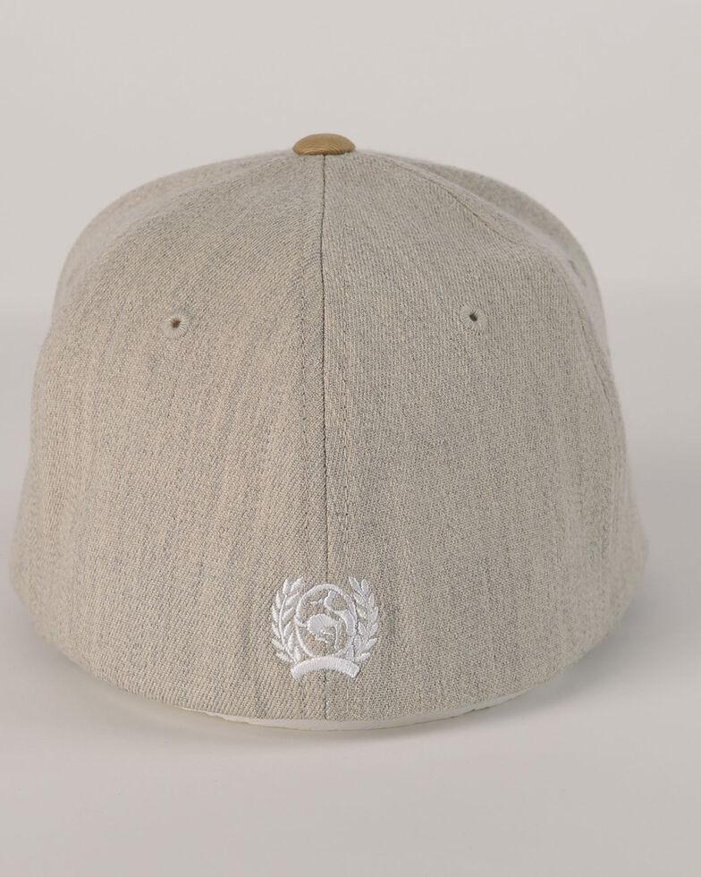 Cinch Men's Flex Fitted Ball Cap , Beige/khaki, hi-res