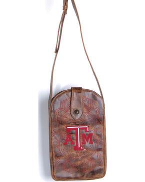 Gameday Boots Texas A&M University Crossbody Bag, Brass, hi-res