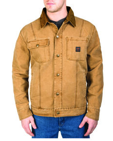Walls Men's Amarillo Cotton Twill Jacket, Pecan, hi-res