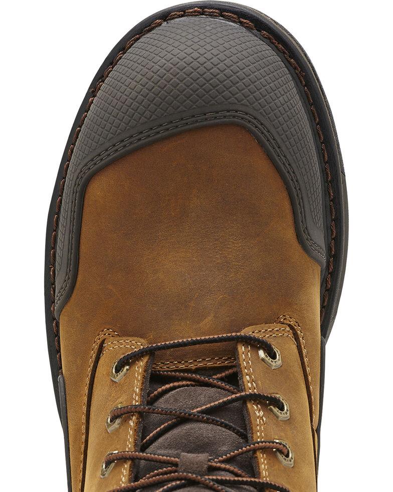 "Ariat Men's Overdrive® XTR 8"" w/ Side Zip ST Work Boots, Aged Bark, hi-res"
