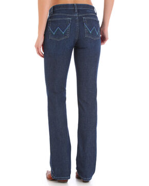 Wrangler Women's Ultimate Riding Q-Baby Jeans, Indigo, hi-res