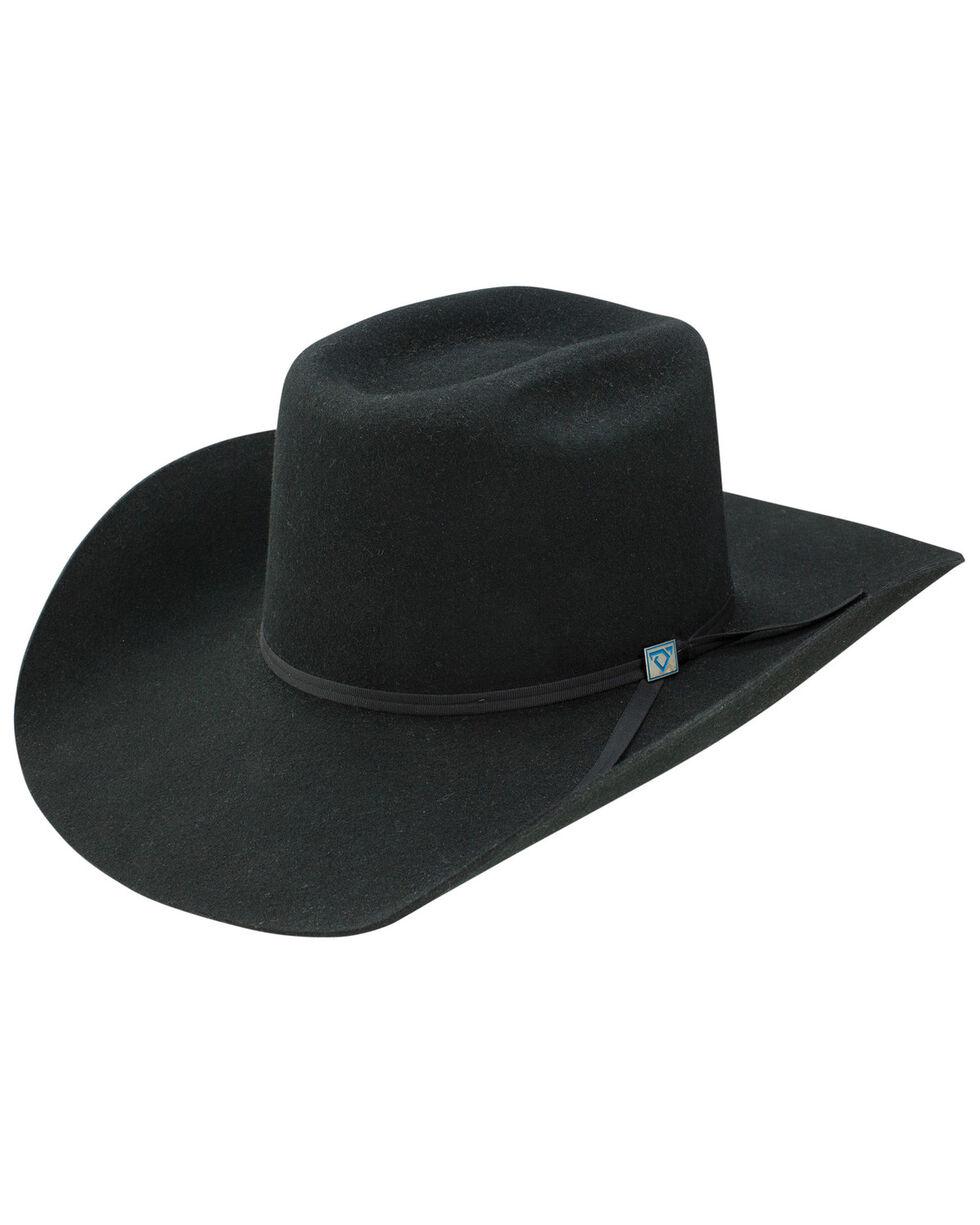 Resistol Men's Wool Western Hat, Black, hi-res