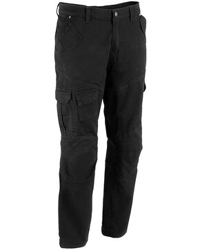 "Milwaukee Performance Men's 32"" Aramid Reinforced Black Cargo Jeans - Big, Black, hi-res"