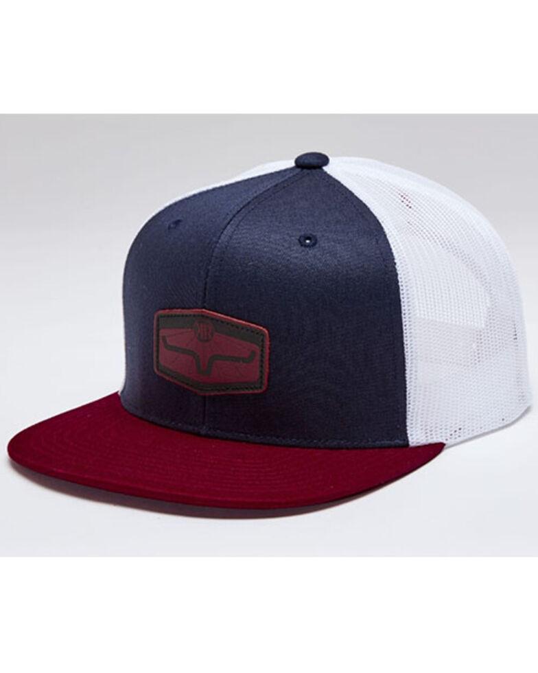 Kimes Ranch Men's Red & Navy Rays Premium Mesh-Back Ball Cap , Red, hi-res
