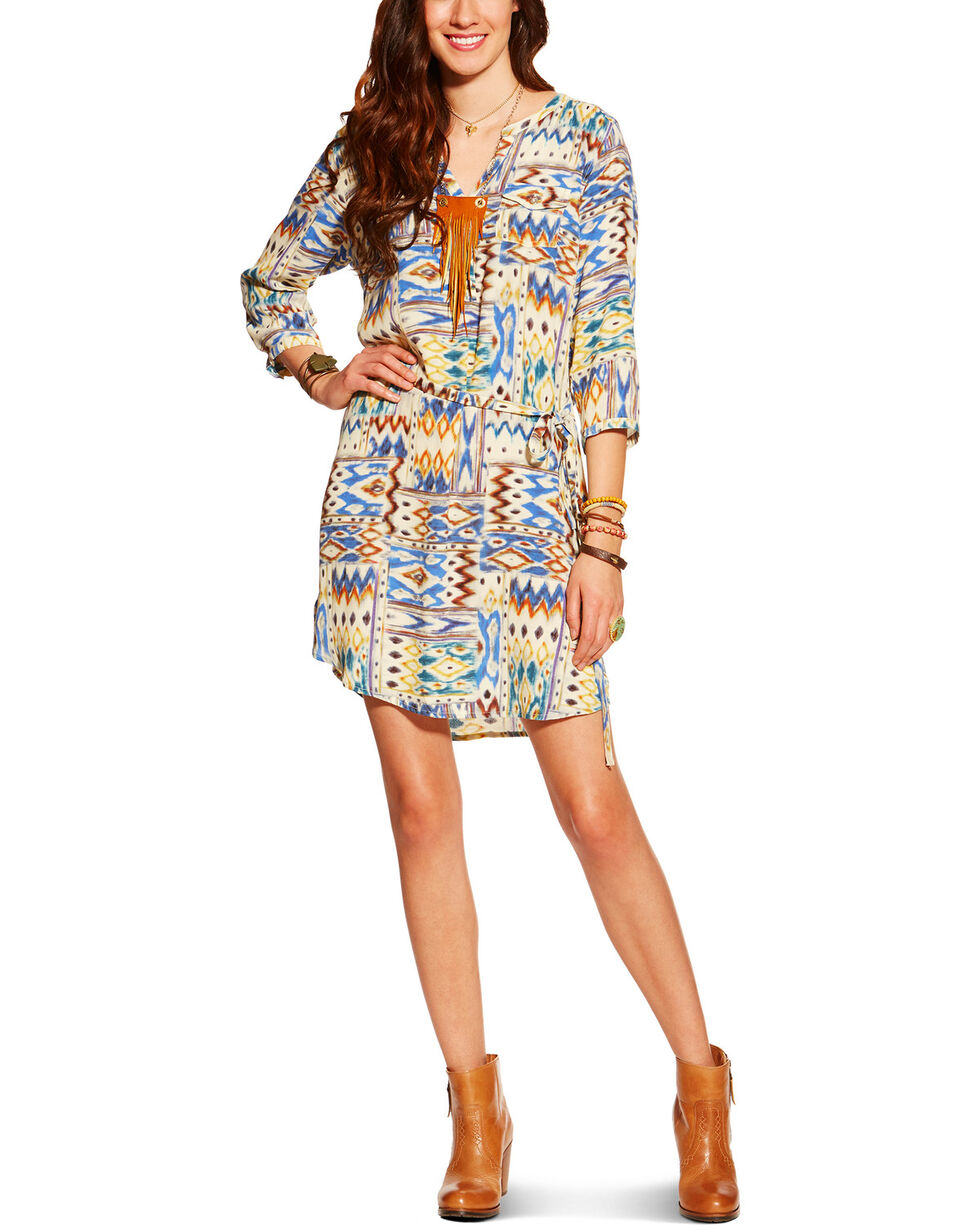 Ariat Women's Dyna Dress, Multi, hi-res